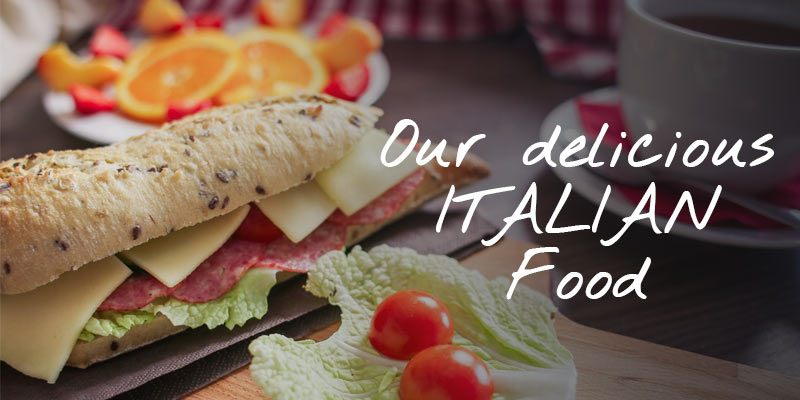 Our Delicious Italian Food Image